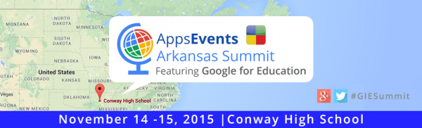 Google for Education Arkansas Summit